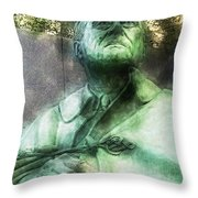 Fdr - 3164 Traveling Pigments Hp Throw Pillow
