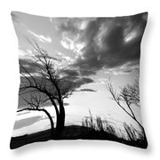 Fear Of Symptoms Throw Pillow