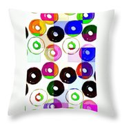 Feast Your Eyes Throw Pillow