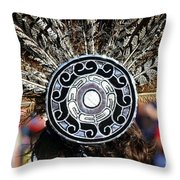 Feather Headdress Throw Pillow