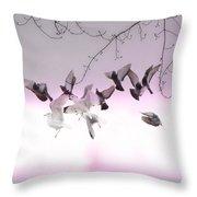 Feather Light Throw Pillow