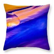 Feather Sunset Throw Pillow