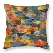 Feathered Cape Throw Pillow