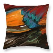 Feathers 2 Throw Pillow