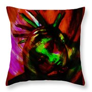 Feathers Have Texture Throw Pillow