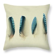 Feathers No1 Throw Pillow