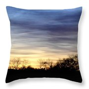 February 1 Dawn 2013 Throw Pillow