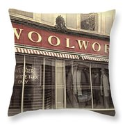 February One Throw Pillow by Melissa Bittinger