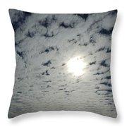 February Sky Throw Pillow