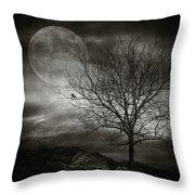 February Tree Throw Pillow