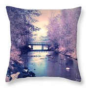 February Yearning Throw Pillow