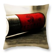 Federal Bullet Throw Pillow