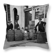 Federal Prohibition Agents 1923 Throw Pillow