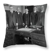 Federal Reserve Board Throw Pillow