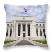 Federal Reserve Building No1 Throw Pillow