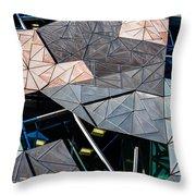 Federation Square Melbourne  Throw Pillow