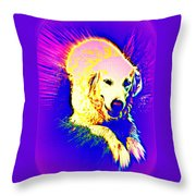 Feed Me Or Leave Me  Throw Pillow