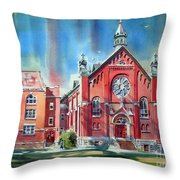Feed The Birds IIi Throw Pillow