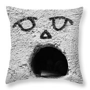 Feed The Walls  Throw Pillow