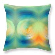 Feel Joy - Energy Art By Sharon Cummings Throw Pillow