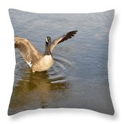 Feel Of Freedom Throw Pillow