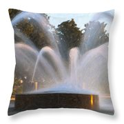 Feel The Mist Throw Pillow
