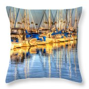 Feel The Warmth Throw Pillow