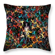 Feeling Exposed Throw Pillow