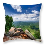 Feeling On Top Of The World Throw Pillow