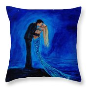 Feeling Safe In Your Arms Throw Pillow