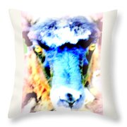 I Have This Terrible Sheep Feeling  Throw Pillow