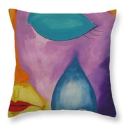 Feeling The Loss Throw Pillow