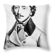 Felice Varesi (1813-1889) Throw Pillow