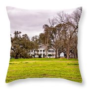 Felicity Plantation Throw Pillow