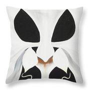 Feline-opsis Throw Pillow