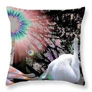 Feline Utopia Throw Pillow