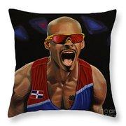 Felix Sanchez Throw Pillow