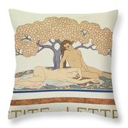 Female Nudes Throw Pillow