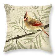 Female Symphony Throw Pillow