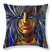Femme Energy Throw Pillow