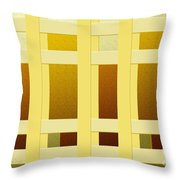 Fenced In 3 Throw Pillow
