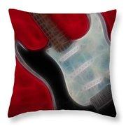 Fender-9668-fractal Throw Pillow