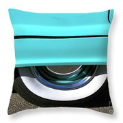 Fender What - 1955 Ford Throw Pillow