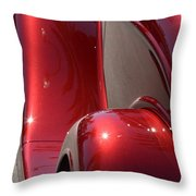 Fenders With Flare Throw Pillow