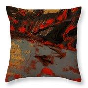 Feng Shui - Gold Mountain Throw Pillow
