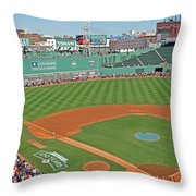 Fenway One Hundred Years Throw Pillow