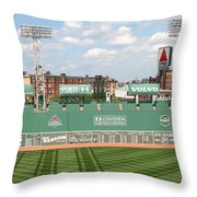 Fenway Park Green Monster 1 Throw Pillow