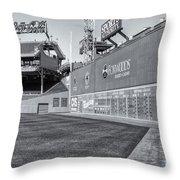 Fenway Park Green Monster II Throw Pillow