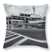 Fenway Park V Throw Pillow