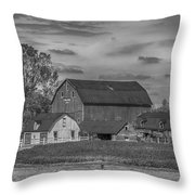 Fenwick Barn 7k02210b Throw Pillow